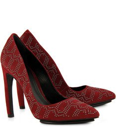 Scarpin Back To The Future Ruby Tachas