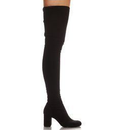 Bota Maxi Over The Knee Black