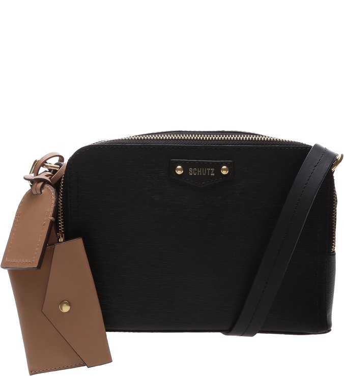 Crossbody Wallet Charm Laura Black | Schutz