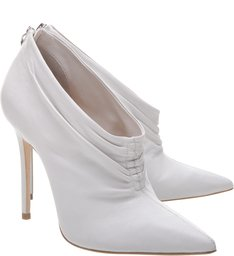 Ankle Boot Leather White