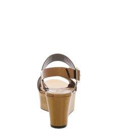Flatform Double Strap Bronze