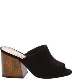 Sandália Mule Classic Wood Black