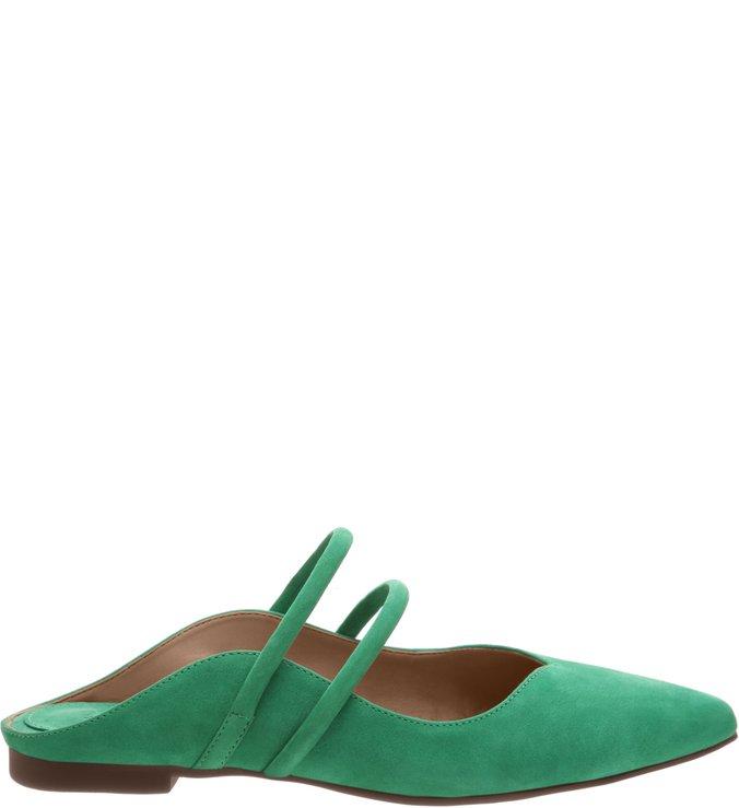 Flat Bico Fino Classic S-Girlie Green | Schutz