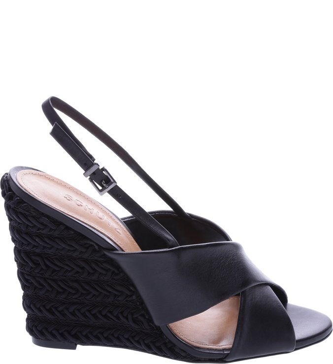 Anabela Braid Black