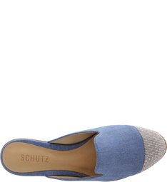 Flat Mule Light Blue