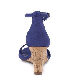 Wedge Cortiça Dress Blue