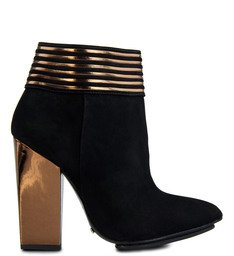 Ankle Boot Tecnofuture Metalizada