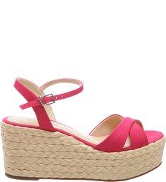 Sandália Flatform Rose Pink