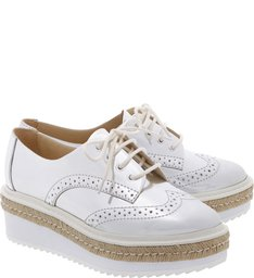 Oxford Flatform Shine Silver