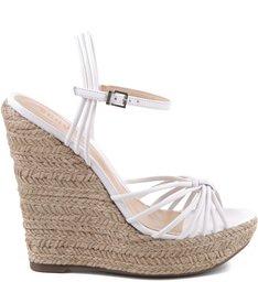 Sandália Plataforma Tie Pearl