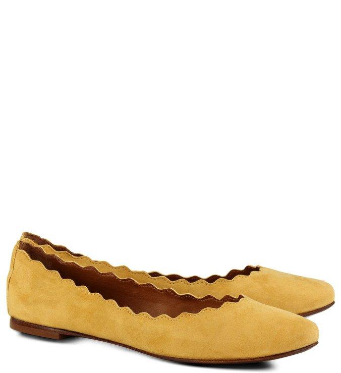 Sapatilha Recortes Amarela