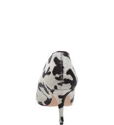 Scarpin Boot Cava Cow Print