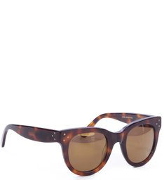 Spektre By Schutz - Sunglasses Tortoise Black