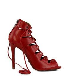 Sandália Amarração Vermelha