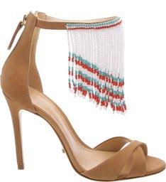 Sandália Beads Fringe Desert
