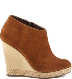 Ankle Boot Anabela Wood