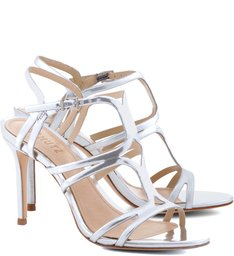 Sandália Stripes Prata