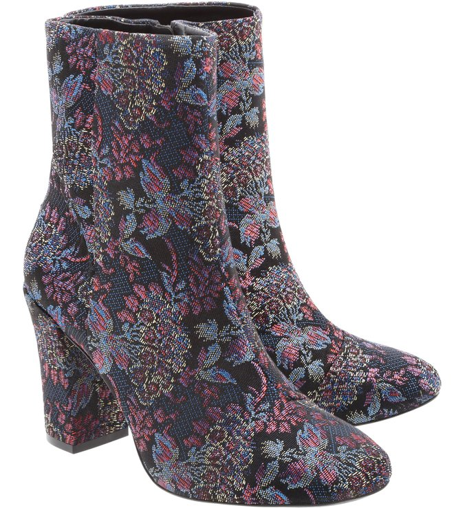 Ankle Boot Jacquard