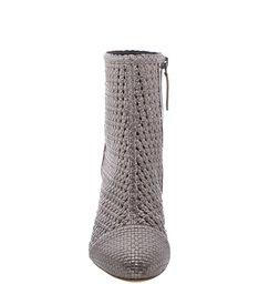 Ankle Boot Tresse Aço