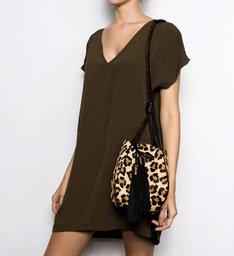 Handle Bag Paula Animal Print