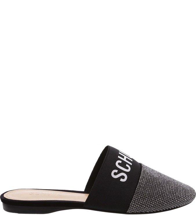 Flat Mule Sporty Glam Black