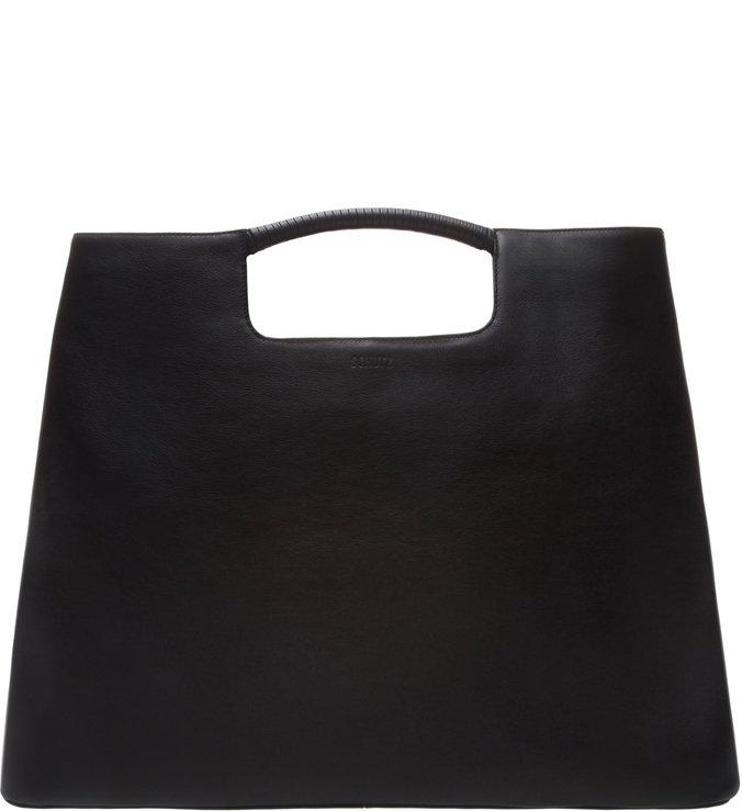 Maxi Hobo Dara Bag Leather Black
