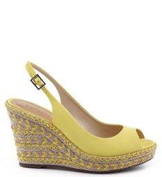 Plataforma Bordada Vibrant Yellow