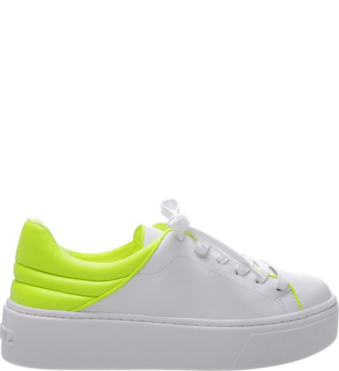 Tênis S-OXY White and Neon Yellow