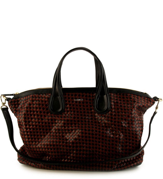 Bolsa Hobo Teresa Red Clay