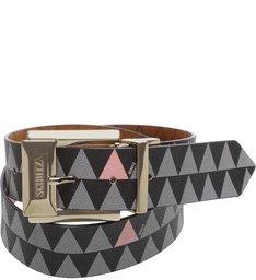 Cinto Triangle Black/Wood