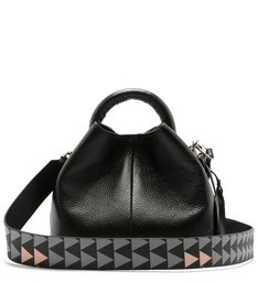 NELLY MINI BUCKET TRIANGLE BLACK