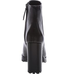 PRÉ-VENDA BEST SELLER Bota Block Heel Tratorada Black