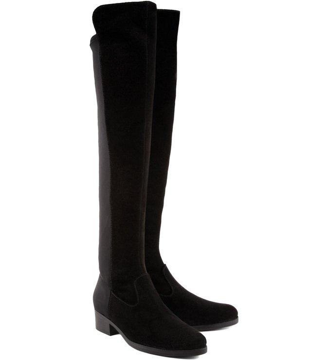 Bota Over The Knee Neoprene Black