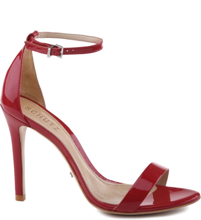 Sandália Gisele Verniz Red