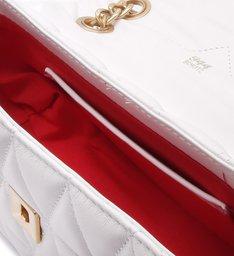 Mini Crossbody Matelassê 944 White