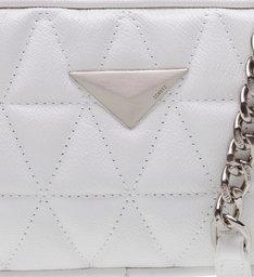 Mini Crossbody Matelassê White