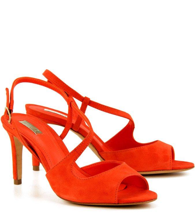 Sandália Forms Laranja