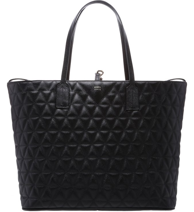 Shopping Bag Matelassê Black | Schutz