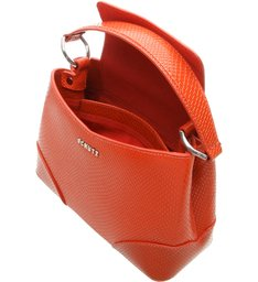 Tote Snake Red Orange