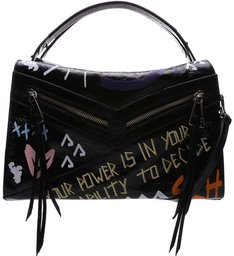 93b7a308f [BACK IN STORE] Handbag Suri Grafite Street Black