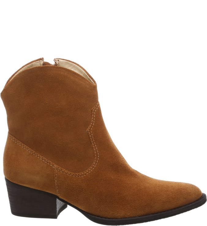 New Western Boot Nobuck Caramelo