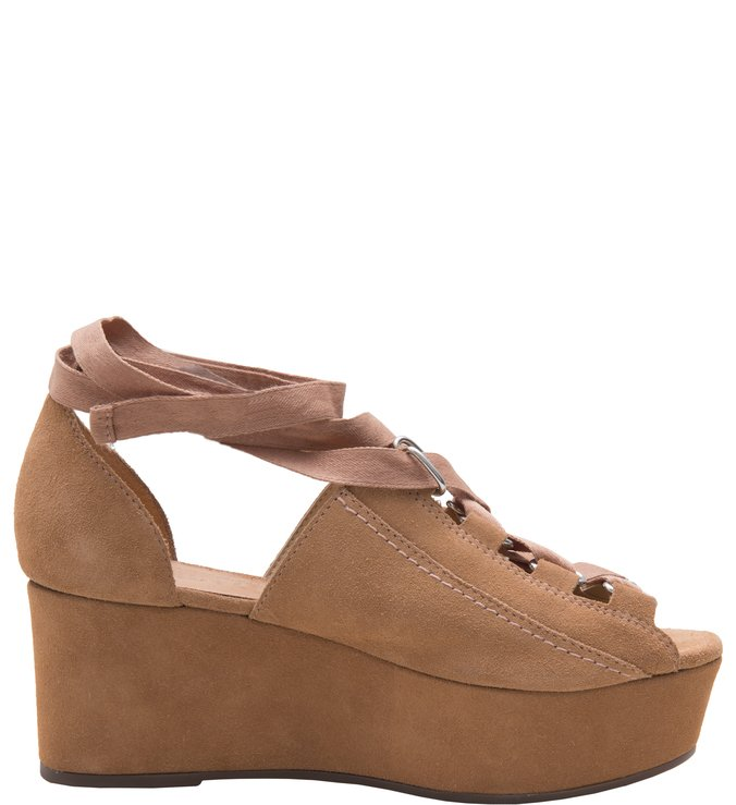 1da95c7284 Plataforma Lace Up Desert