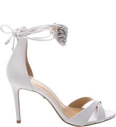 5e790724d Sandália Metallic Pearls White