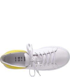 Tênis S-Oxy White & Yellow