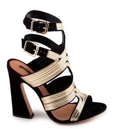 Sandália Gladiadora Dourada