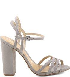 Sandália Block Heel Ciment