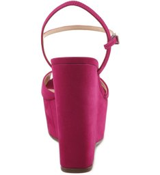Sandália Plataforma True Pink