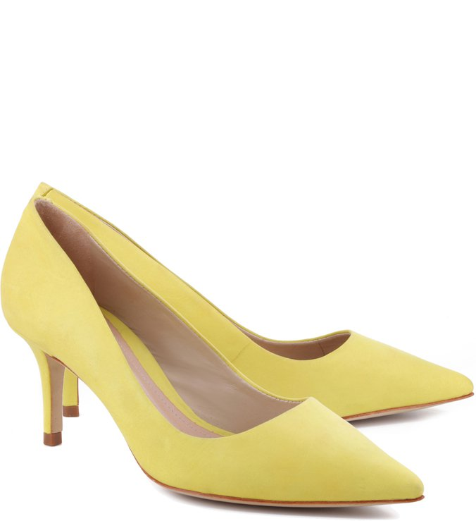 Scarpin Honey Vibrant Yellow