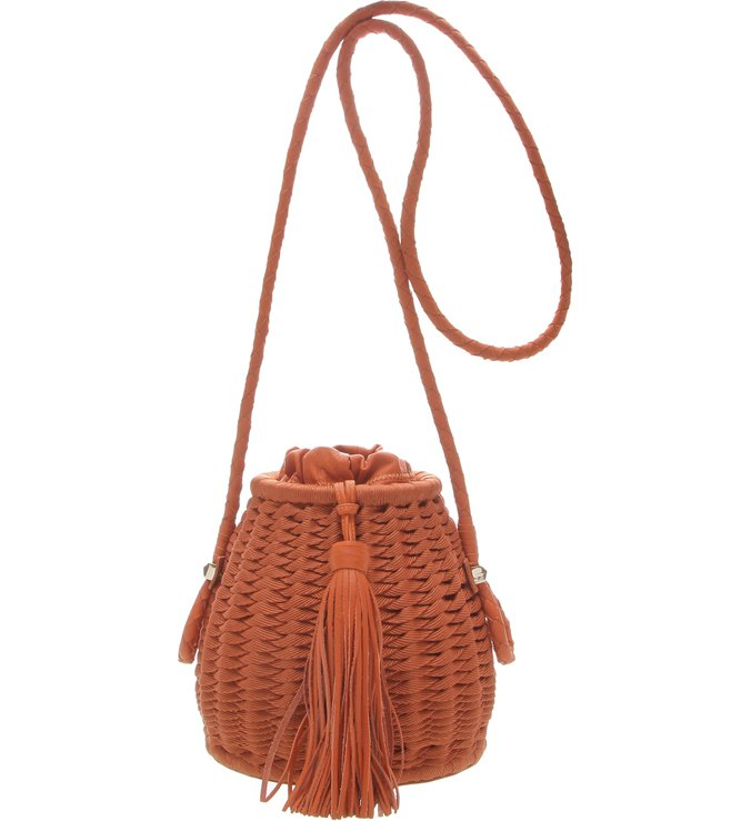 Bucket Bag Noah Trama Ocre