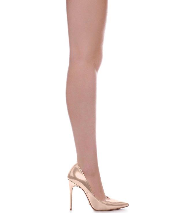 dd096fa71e Scarpin Ouro Rosa